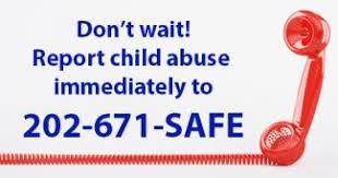 Report Child Abuse—It's the Law | Attorney General Karl A. Racine